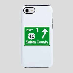 NJTP Logo-free Exit 1 Salem iPhone 8/7 Tough Case