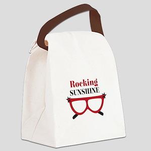 Rocking Sunshine Canvas Lunch Bag