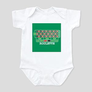 Roulette Table Infant Bodysuit
