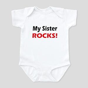 My Sister Rocks Infant Bodysuit