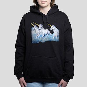 Beautiful Unicorns with Gold Horns Sweatshirt