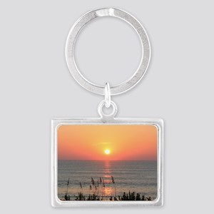 Outer Banks Sunrise Landscape Keychain