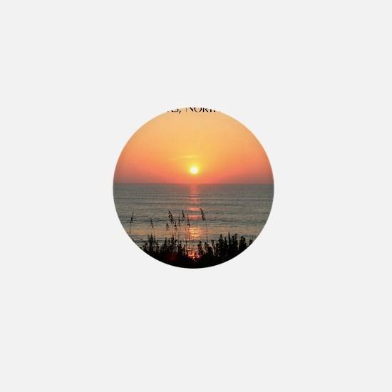 Outer Banks Sunrise Mini Button