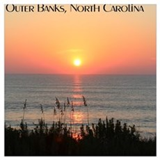 Outer Banks Sunrise Poster