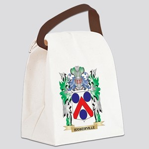 Baskerville Coat of Arms - Family Canvas Lunch Bag