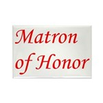 Matron of Honor Rectangle Magnet (10 pack)