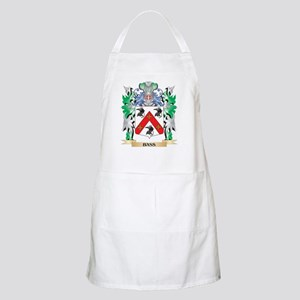 Bass Coat of Arms - Family Crest Apron