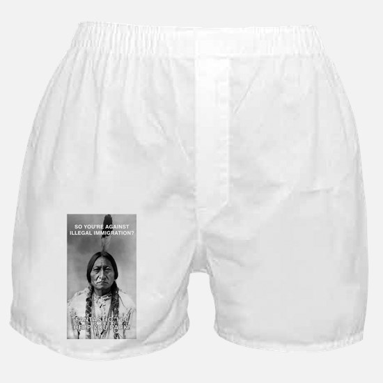 illegal immigration Boxer Shorts
