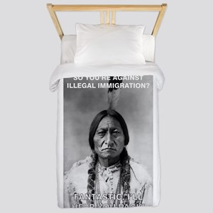 illegal immigration Twin Duvet