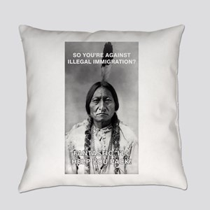 illegal immigration Everyday Pillow