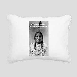 illegal immigration Rectangular Canvas Pillow