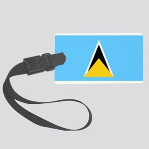 St Lucia Large Luggage Tag
