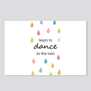 Learn to Dance in the Rai Postcards (Package of 8)