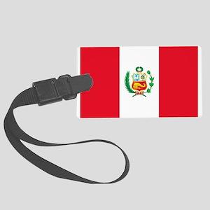 Peru Large Luggage Tag