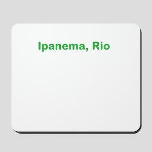 Ipanema Beach Mousepad