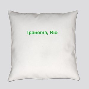 Ipanema Beach Everyday Pillow