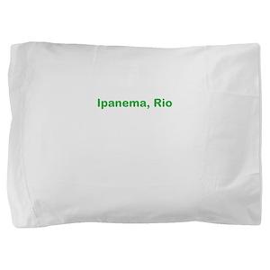 Ipanema Beach Pillow Sham