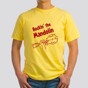 ROCKIN MANDOLIN Yellow T-Shirt