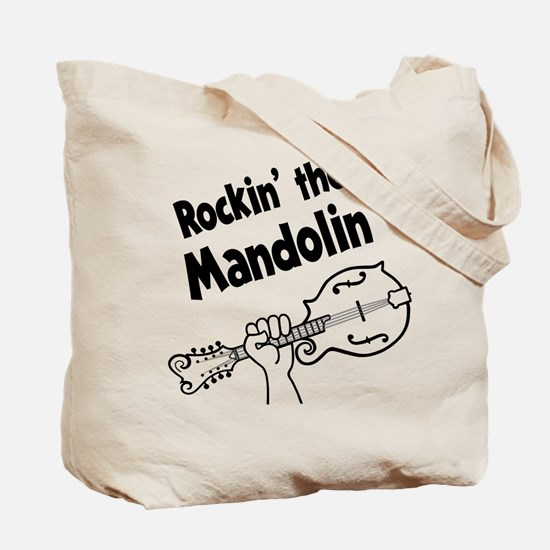 MANDOLIN (both sides) Tote Bag