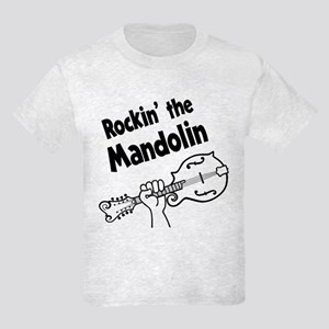 ROCKIN MANDOLIN Kids Light T-Shirt