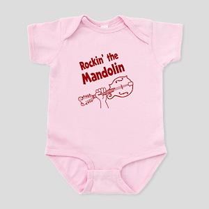 ROCKIN MANDOLIN Infant Bodysuit