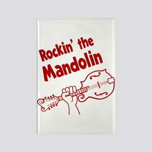 ROCKIN MANDOLIN Rectangle Magnet