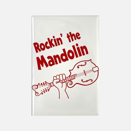 ROCKIN MANDOLIN Rectangle Magnet