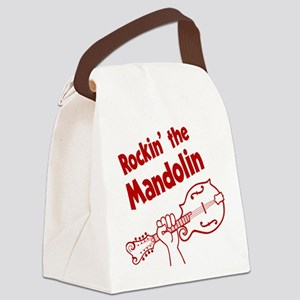 ROCKIN MANDOLIN Canvas Lunch Bag