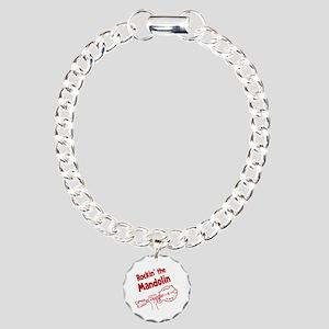 ROCKIN MANDOLIN Charm Bracelet, One Charm