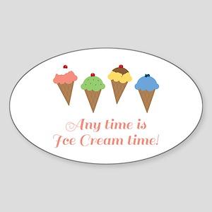 Ice Cream Time Sticker