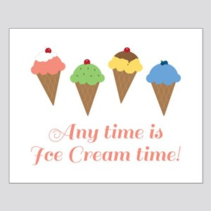 Ice Cream Time Posters