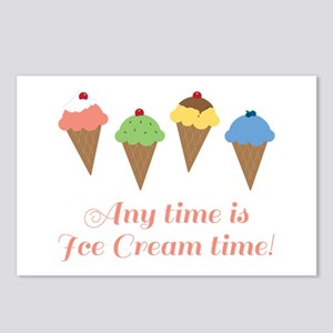 Ice Cream Time Postcards (Package of 8)