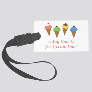 Ice Cream Time Luggage Tag