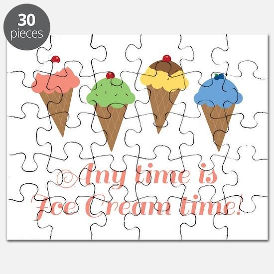 Ice Cream Time Puzzle