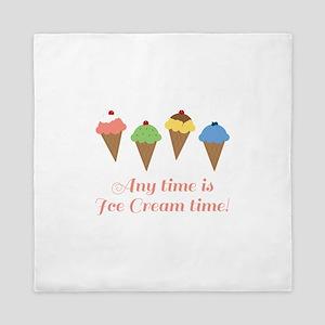 Ice Cream Time Queen Duvet