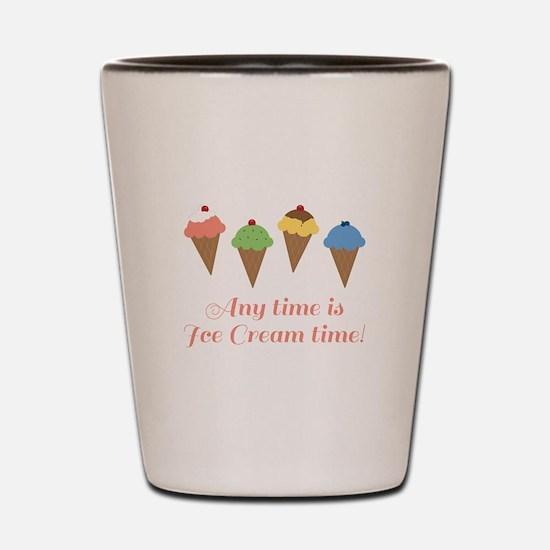 Ice Cream Time Shot Glass