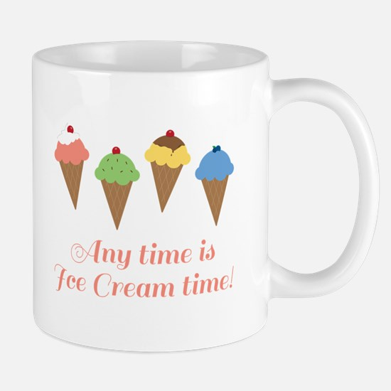 Ice Cream Time Mugs