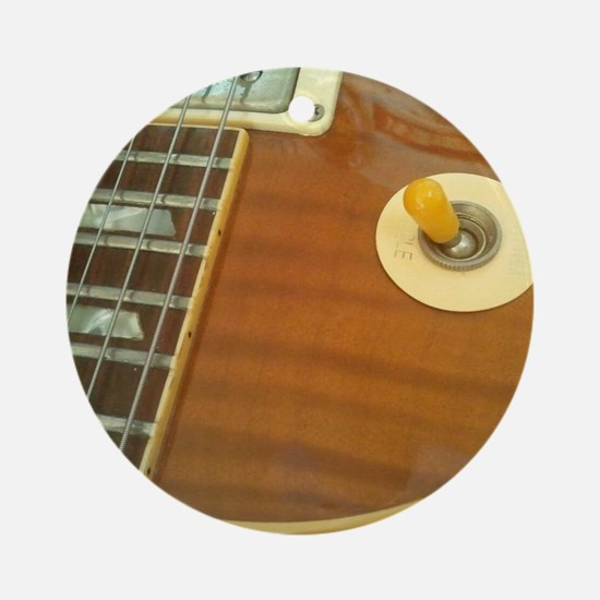 59 Gibson Les Paul Round Ornament
