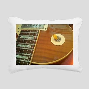 59 Gibson Les Paul Rectangular Canvas Pillow