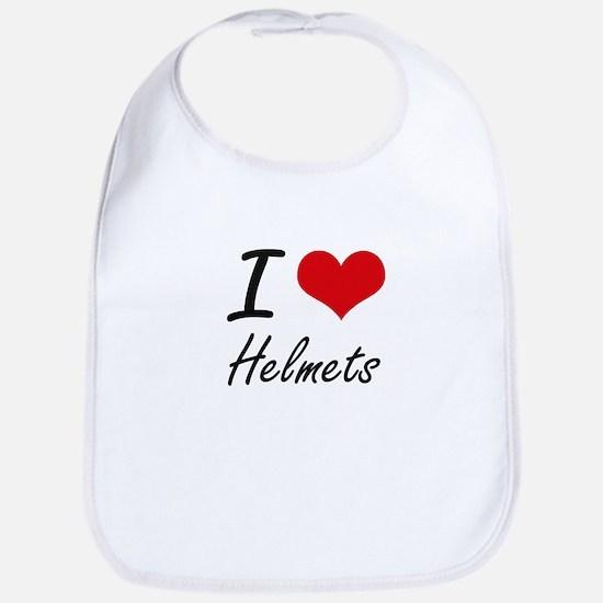 I love Helmets Bib