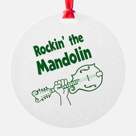 ROCKIN MANDOLIN Ornament