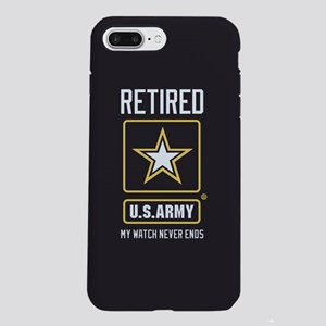 US Army Watch Never Ends iPhone 8/7 Plus Tough Cas