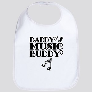 Daddys Music Buddy Bib