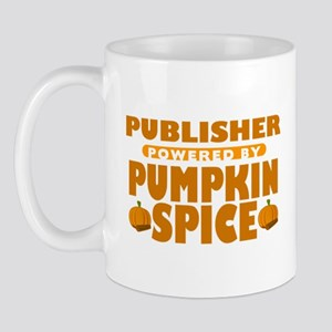 Publisher Powered by Pumpkin Spice Mug