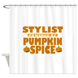 Pumpkin Spice Shower Curtains