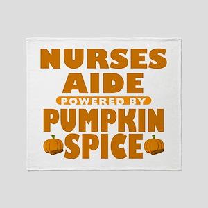 Nurses Aide Powered by Pumpkin Spice Stadium Blank