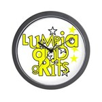Lumpia & Grits Wall Clock