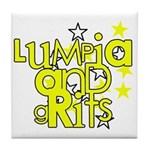 Lumpia & Grits Tile Coaster