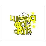 Lumpia & Grits Small Poster