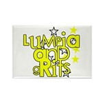 Lumpia & Grits Rectangle Magnet